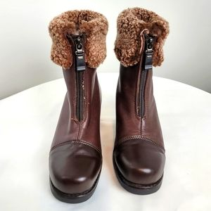 Leather Pajar boots